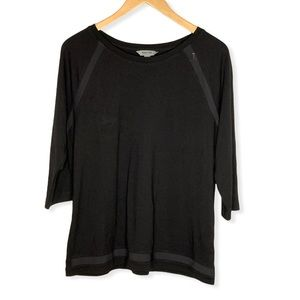 Kenneth Cole Reaction Mesh Inlay Top